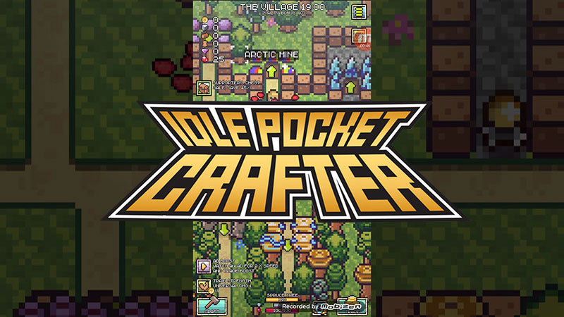 Idle Pocket Crafter Mine Rush Mod Apk