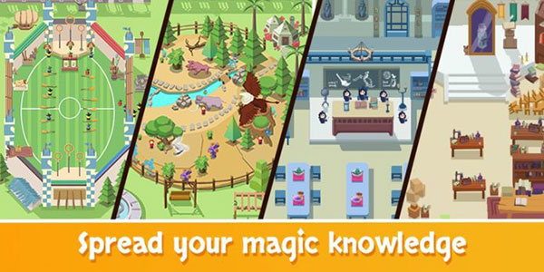 Idle Wizard School Wizards Assemble Mod Apk
