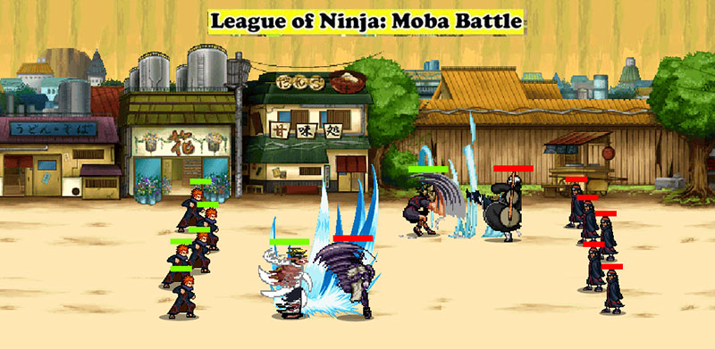 League of Ninja Moba Battle APK v3.0.1