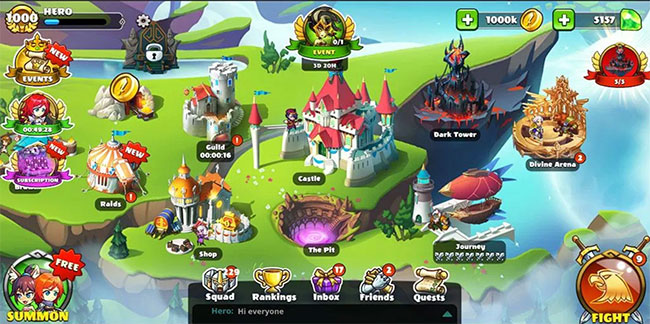 Mighty Party Heroes Clash Mod Apk