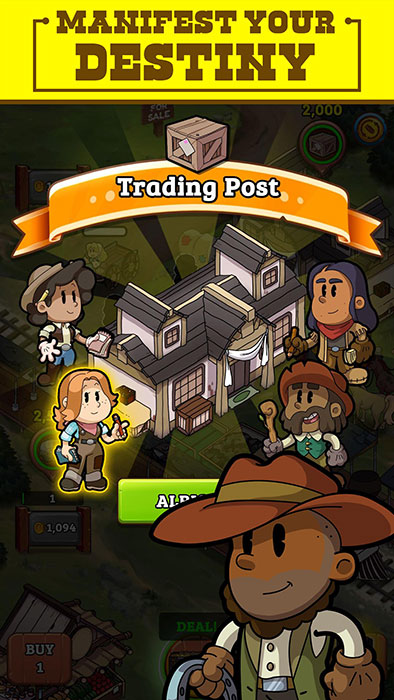 Idle Frontier Tap Town Tycoon Mod Apk
