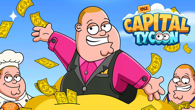 Idle Capital Tycoon Money Game Mod Apk