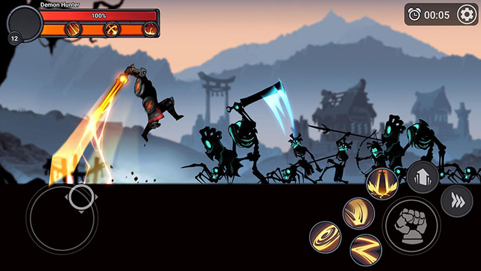 Stickman Master League Of Shadow Mod Apk