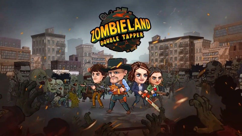 Zombieland Double Tapper Mod Apk - action game with fascinating role-playing where you will build a survival squad against a variety of brain hungry zombies