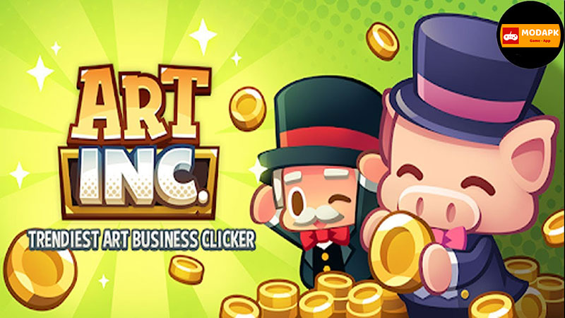 Art Inc Trendy Business Clicker Mod Apk