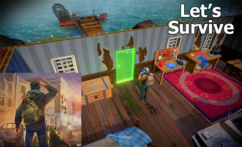 Let's Survive Mod Apk (Unlimited Money)