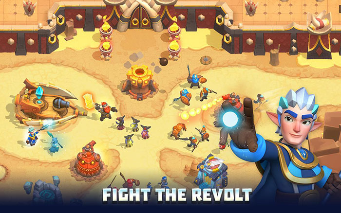 Wild Sky TD Tower Defense Mod Apk