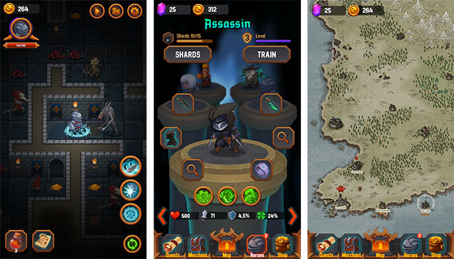 Dungeon Age of Heroes Mod Apk